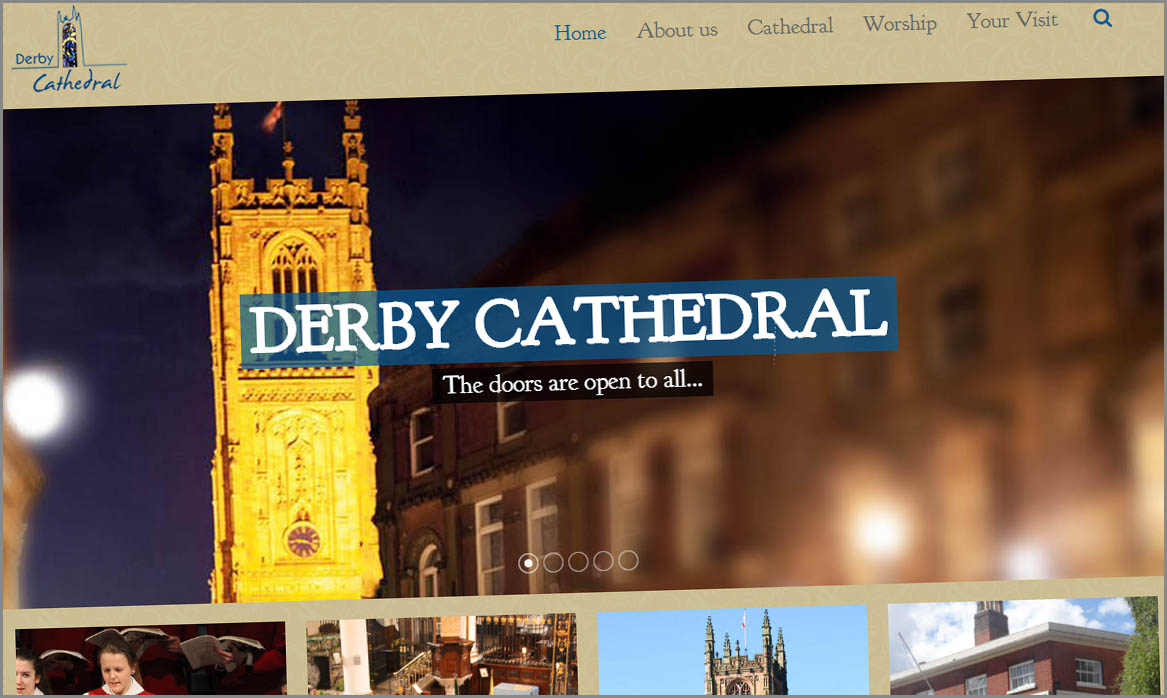 Derby Cathedral Web site